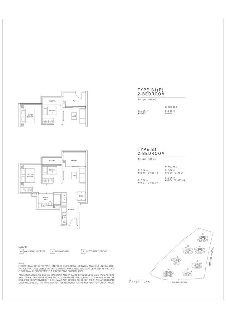 Jadescape floor plans Singapore b1