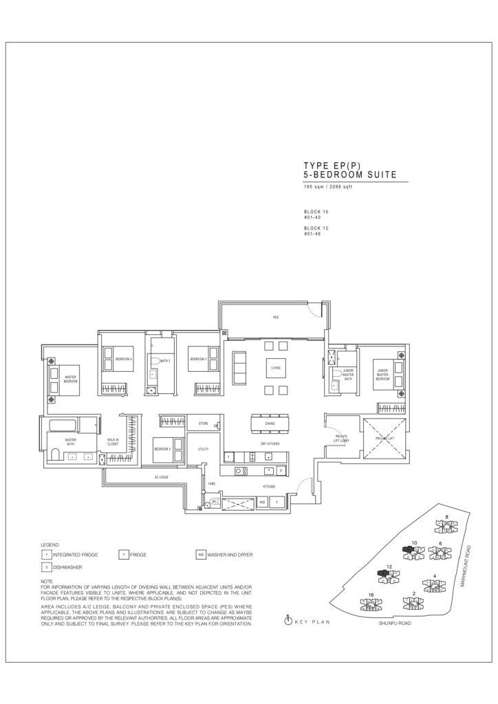 Jadescape floor plans Singapore epp