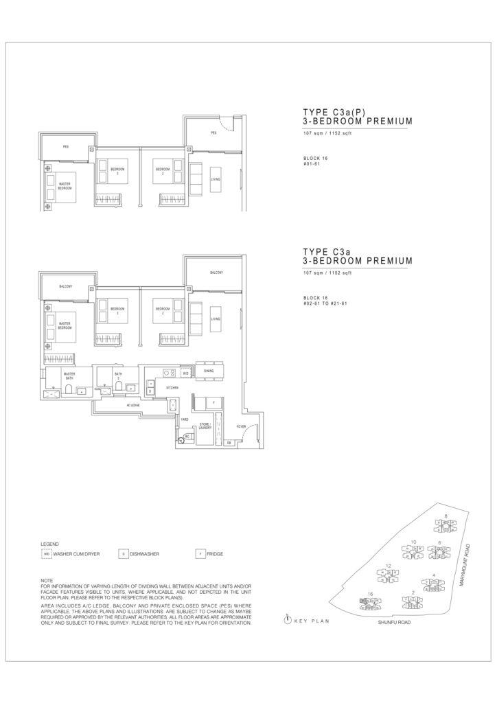 Jadescape floor plans c3a Premium