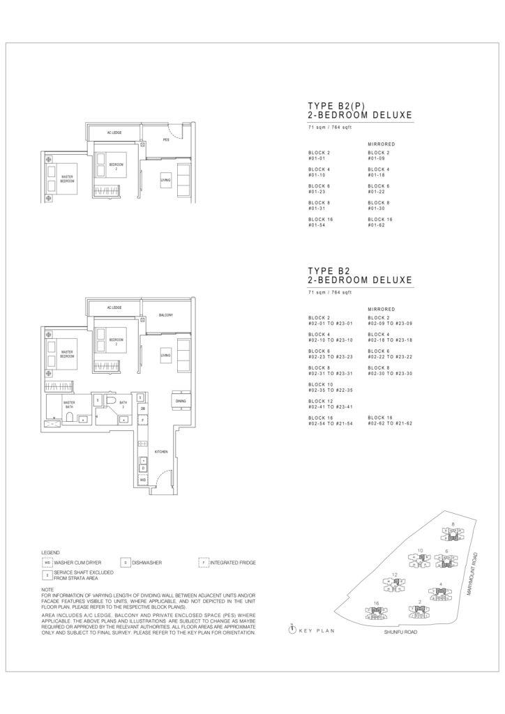 Jadescape floor plans singapore b2 deluxe