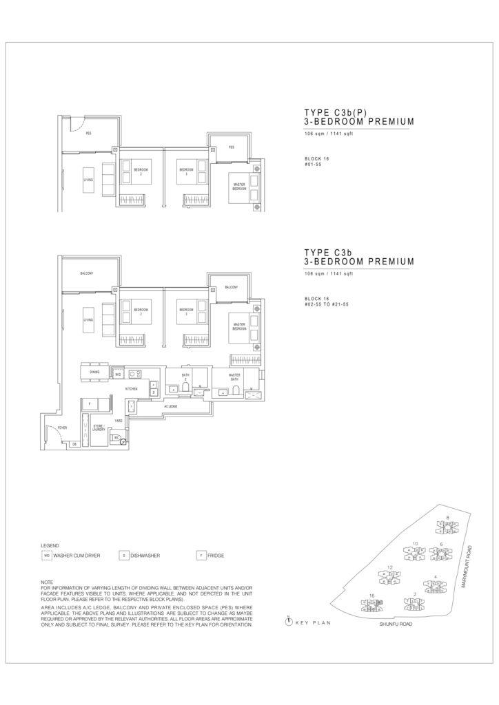Jadescape floor plans singapore c3b Premium